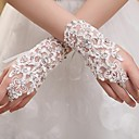 Wrist Length Fingerless Glove Tulle Bridal Gloves / Party/ Evening Gloves