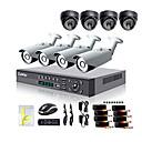 Cámara de Seguridad Día/Noche de Exterior Liview® 700TVL y Sistema DVR HDMI 960H de 8 Canales