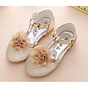 Girls' Shoes Dress Closed PU Sandals Pink / Silver / Gold