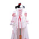 pandora hjerter hvit kanin alice hvit kjole cosplay kostyme