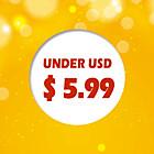 under USD $5.99