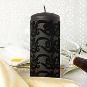 Tema Jardín Los favores de la vela Pedazo / Set Velas Sin personalizar Negro