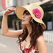 květina zdobí Českého Podívejte Slaměný klobouk