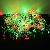 Tira de Luces LED de Navidad con 8 Modos de Titileo de 300 Luces de 30M Estilo Mágico  de 220V