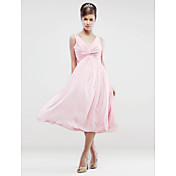 ALESSA - kjole til bryllupsfest eller brudepike i Chiffon