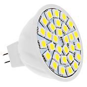 5W GU5.3(MR16) LEDスポットライト 30 SMD 5050 420 lm 温白色 / クールホワイト DC 12 V