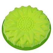 """10.5 """"Girasol en forma de torta del silicón"""