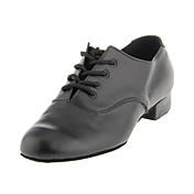 Zapatos de baile (Negro) - Moderno/Salón de Baile - No Personalizable - Tacón grueso