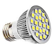 E26/E27 LEDスポットライト PAR38 21 SMD 5050 240 lm ナチュラルホワイト AC 110-130 / 交流220から240 V