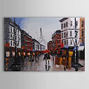Pintada a mano Paisaje Un Panel Lienzos Pintura al óleo pintada a colgar For Decoración hogareña