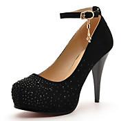 Moolecole Kvinders Black Diamond Stiletto Heels