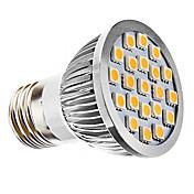 3W E26/E27 LEDスポットライト MR16 21 SMD 5050 240 lm 温白色 AC 110-130 / 交流220から240 V