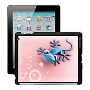 Efecto 3D Volver Funda para el iPad 2/3/4