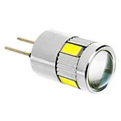 G4 Bombillas LED de Mazorca T 6 SMD 5730 280 lm Blanco Fresco DC 12 V