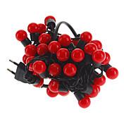Los 5M 3W Bola 50-LED de luz roja en forma de luz de tira de LED (220)