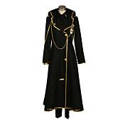 に触発さ デビルサバイバー2 Yamato Hotsuin ビデオ ゲーム コスプレ衣装 コスプレスーツ パッチワーク ブラック コート / シャツ / パンツ / ネクタイ / バッジ