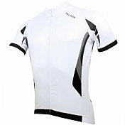 ILPALADINO サイクリングジャージー 男性用 半袖 バイク ジャージー トップス 速乾性 抗紫外線 高通気性 ポリエステル100% パッチワーク 春 夏 レジャースポーツ サイクリング/バイク