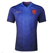 2014ワールドカップワールドカップジャージオランダ訪問するゲーム青