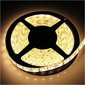 ZDM™防水5メートルSMD 4800lm温白色光を主導72ワット300 * 5050ストリップランプ(DC12V)