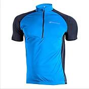 Nuckily Maillot de Ciclismo Hombre Manga Corta Bicicleta Camiseta/Maillot Tops Secado rápido Resistente a los UV Listo para vestir