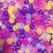 baoguang®8 * cuentas de cambio de color de 6 mm de telar color del arco iris (20pcs)