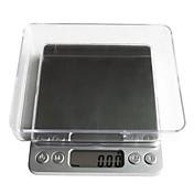 デジタルLCD電子キッチン体重食品スケールbalance1000g / 0.1グラム、プラスチック12.7x10.6x1.9cm