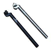 Tija de Sillín Bicicleta de Montaña aleación de aluminio plateado / Negro
