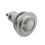 調光可能GU10 5W COB 450LM 4200KナチュラルホワイトLEDスポットランプライト(AC110-130V)