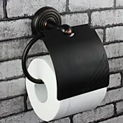 """Držák na toaletní papír / Naolejovaný bronz / Na ze´dMosaz /Vintage /12cm(4.7"""") 8cm(3.1"""") 1kg"""