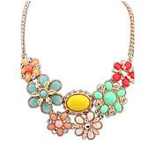 flor de las mujeres canlyn elegante collar