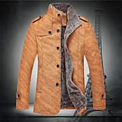 ℃&男性の新しい韓国のスリムコートジャケットk個