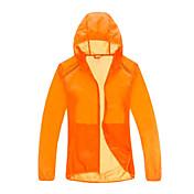 Hombre Mujer Unisex Chaqueta para senderismo Impermeable Secado rápido Resistente al Viento Resistente a los UV Transpirable Transparente