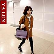 moda clásica chaqueta de cordero terciopelo de yalun®women