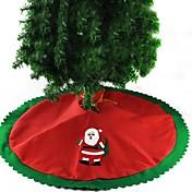 クリスマスツリーのスカートの装飾サンタクロース直径90cmの