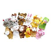 おもちゃ 指人形 動物 カトゥーン ゲーム&パズル 男の子向け 女の子向け クロス