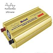 meind®パワーインバータ千ワットの充電器との純粋な正弦波&220VのACコンバータ車のインバータへのアップ12V DC mz1ku