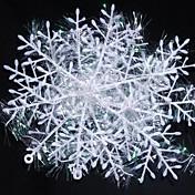 22センチメートルクリスマス装飾された雪の6PCS