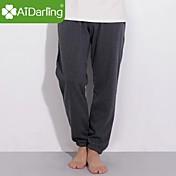 aidarling男性の冬は暖かいプルー綿を維持し、絨毛パンツXXXLサイズと5色を持っている