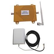 CDMA / PC 850 / 1900MHz de doble banda de la señal del teléfono móvil kit de antena amplificador de refuerzo