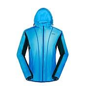 男女兼用 ハイキング ジャケット 防雨 高通気性 軽量素材 フルオープンファスナー ジャケット のために サイクリング/バイク 春 秋 S M L XL XXL-Outto