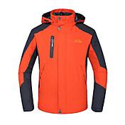 Hombre Chaqueta para senderismo Impermeable Resistente al Viento Aislado Transpirable Chaqueta de Invierno Top para Esquí Camping y