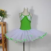 Ropa de Baile para Niños Tops Vestidos Faldas Tutús Niños Algodón Tul Sin mangas
