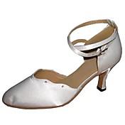 Zapatos de baile (Blanco) - Moderno Tacón Personalizado