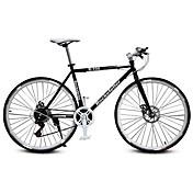 ロードバイク サイクリング 21スピード 26 inch/700CC SHIMANO TX30 ダブルディスクブレーキ 普通 モノコック 普通 スチール