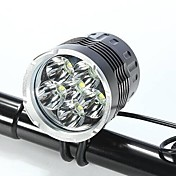 Linternas de Cabeza Luces para bicicleta LED Cree XM-L T6 Ciclismo A Prueba de Agua Recargable Resistente a Golpes Fácil de Transportar