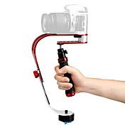DEBO Vídeo estabilizador de mano UF-007 para SLR Camera - Red + Negro + astilla