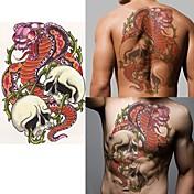 1 Tetovací nálepky Ostatní Non Toxic Spodní část zad WaterproofDítě Dámské Pánské Dospělý Dospívající Flash Tattoo dočasné tetování