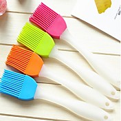 silicona cocina casera creativa cepillo suave para limpiar el cepillo (color al azar)