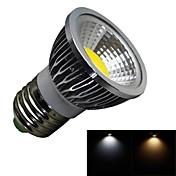 3W E26/E27 Lâmpadas de Foco de LED 1 COB 280lm lm Branco Quente / Branco Frio Regulável AC 100-240 V