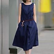 diors女性のヨーロッパのコットンロングタンクドレス